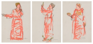 Standing Woman Triptych