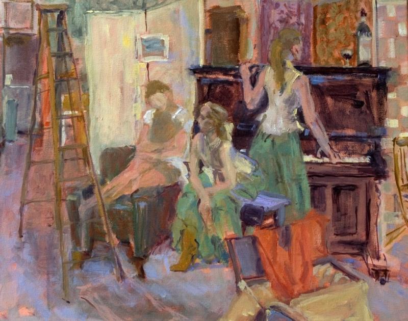 Atelier de Peinture_Painting Studio