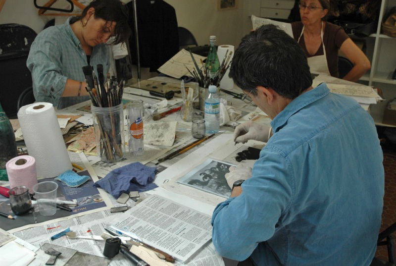 Stage de Monotypes_Monotype Workshop