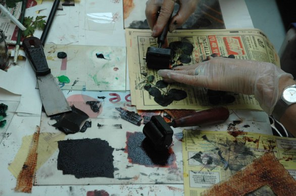 Monotype Workshop/Stage Monotype