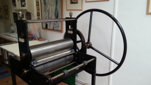 Etching Press at ArtAtelierParis