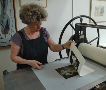Saturday Printmaking Workshop_Jan OLSSON_October 2015