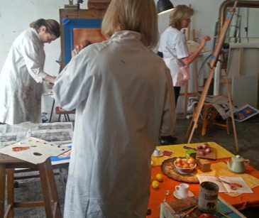 ArtAtelierParis_painting studio