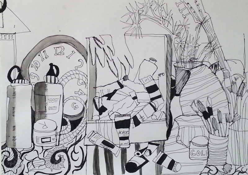 Alexandra-Reuter_pen and ink wash